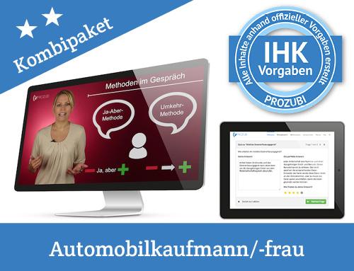 IHK Pruefung Automobilkaufmann Automobilkauffrau