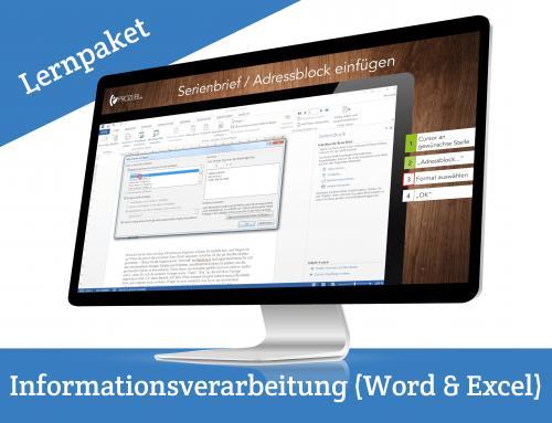 IHK Pruefung Informationsverarbeitung Word Excel