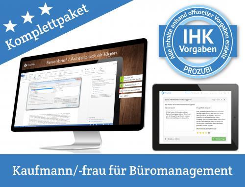 IHK Pruefung Kaufmann Kauffrau fuer Bueromanagement 1