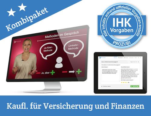 IHK Pruefung Kaufmann Kauffrau fuer Versicherung und Finanzen
