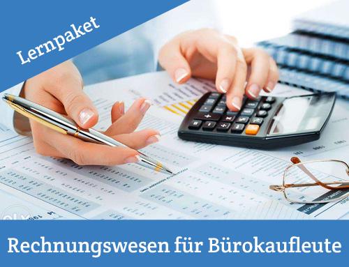 IHK Pruefung Rechnungswesen für Buerokaufmann Bürokauffrau