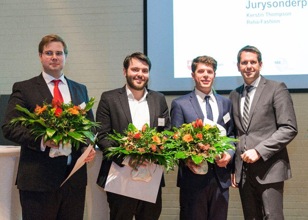 Prozubi gewinnt Gründerpreis des Wirtschaftsministers!